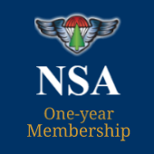 Donation + One-year NSA membership