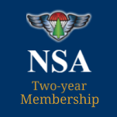 Donation + Two-year NSA Membership