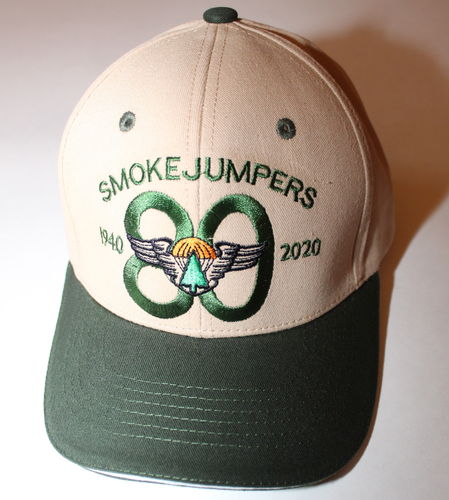 SMOKEJUMPERS 80th anniversary cap