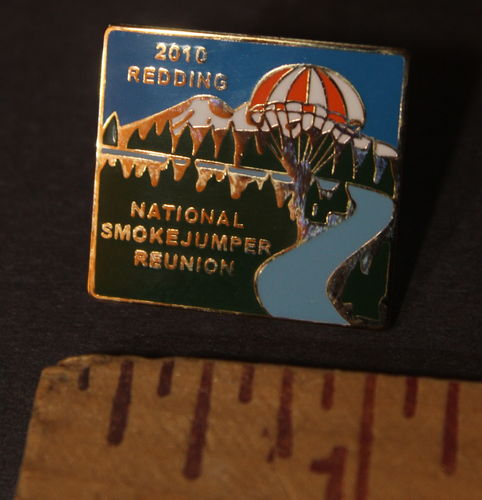 Smokejumpers 2010 Redding reunion lap pin